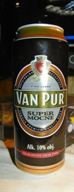 Piwo Van Pur Super Mocne
