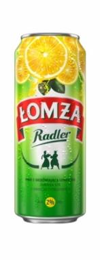 Smakowe piwo Łomża Radler